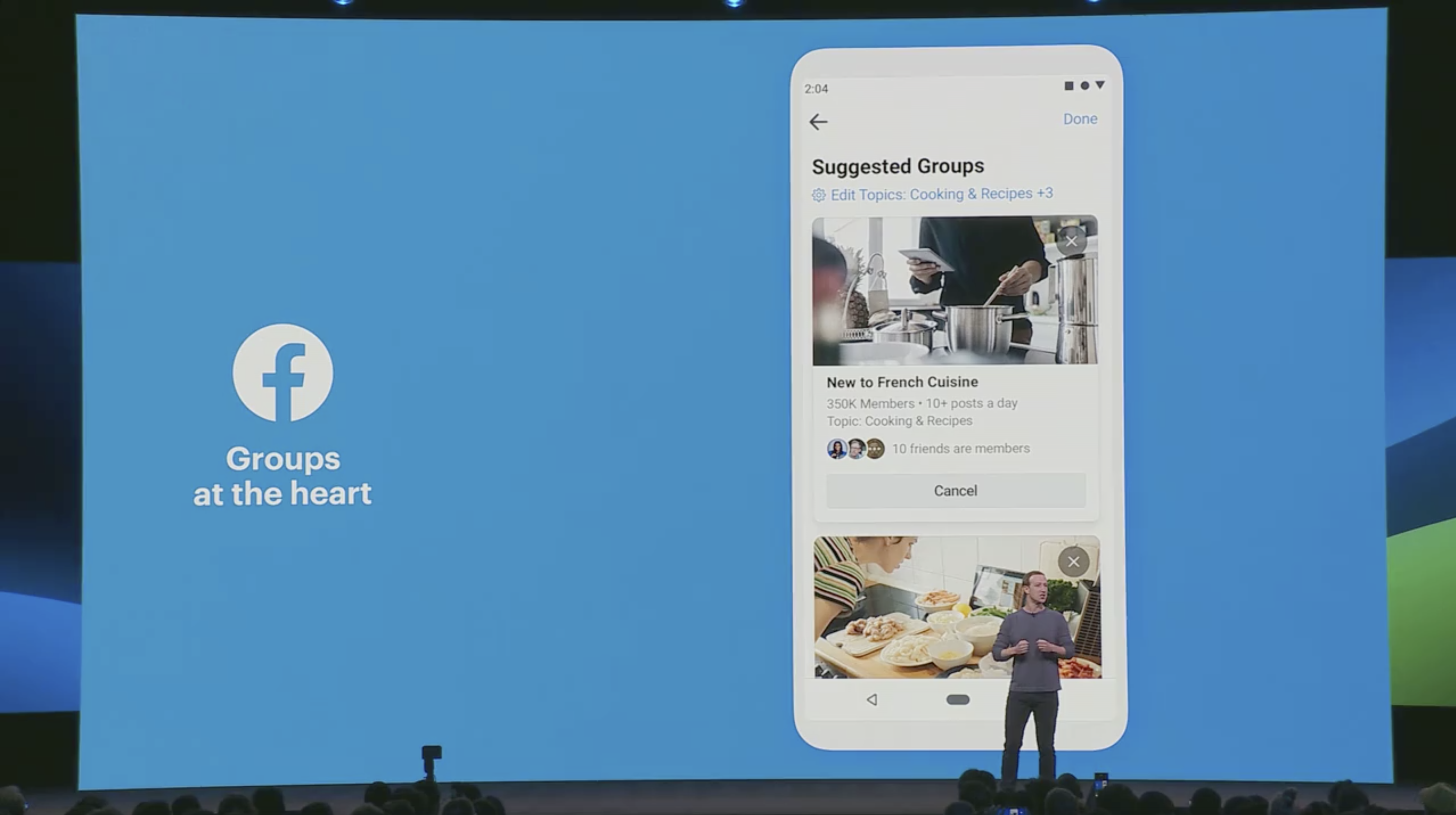 F8 2019 Facebook Groups at the heart of the experience