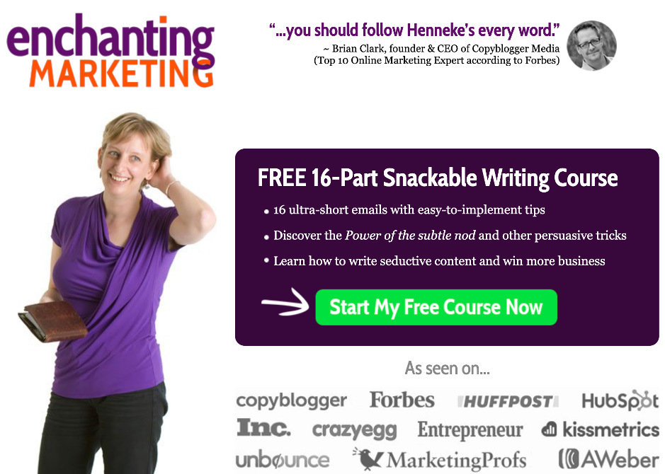serialized content drip email enchanting marketing