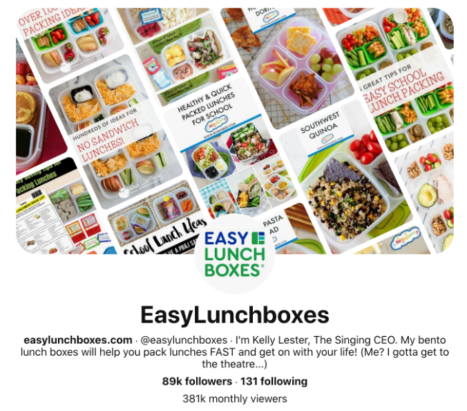 social media for small business successful brands easy lunchboxes pinterest